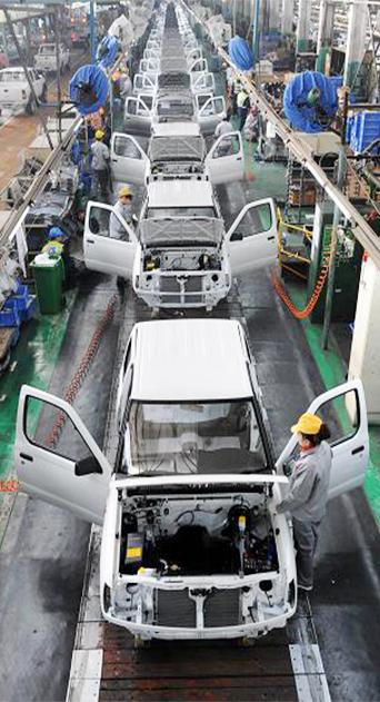 汽车组装流水线